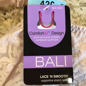 606226c97fd2a Bali Intimates   Sleepwear - NWT Bali Lace  N Smooth Bra color   rosewood
